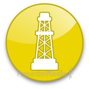 Oil Rig clipart old Presentation Rig Button Clipart Great