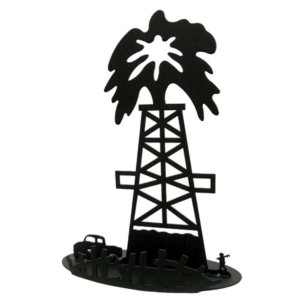 Oil Rig clipart old Centerpiece Oil Derrick