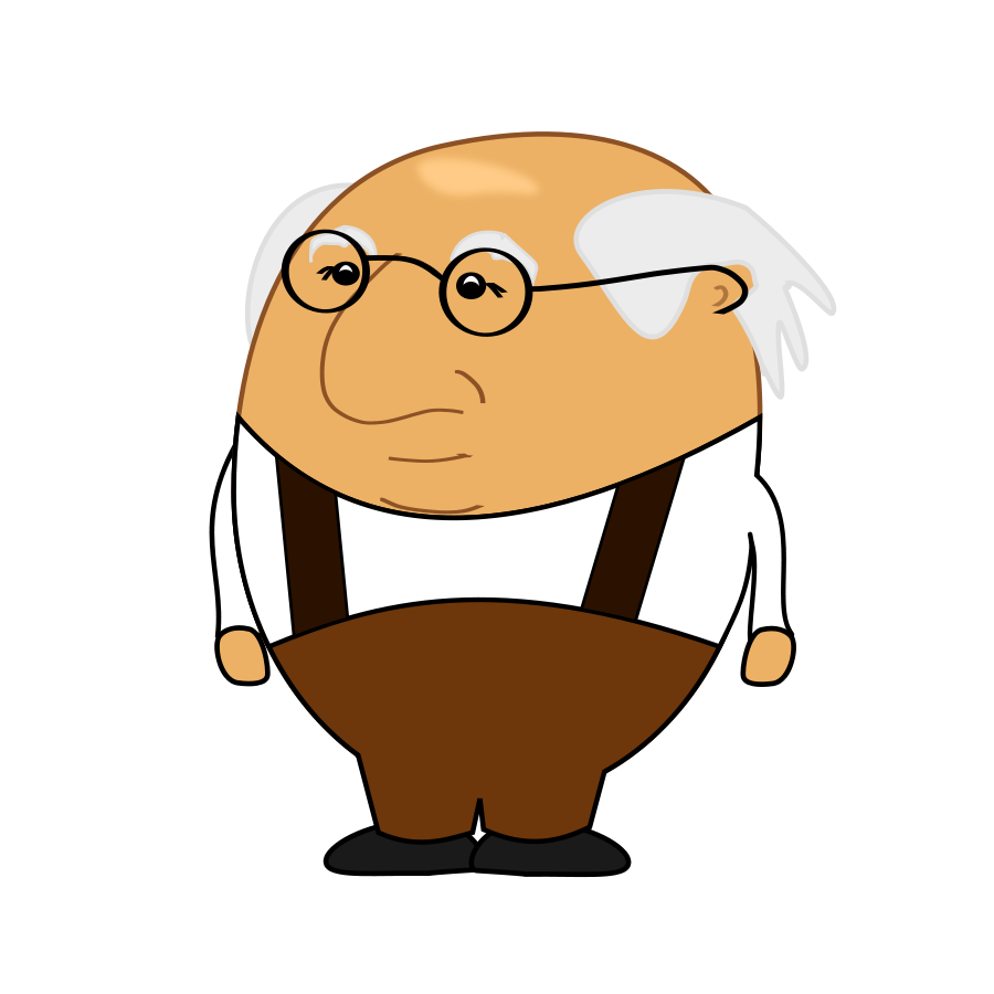 Old clipart 2 Clipart man old Clipartix