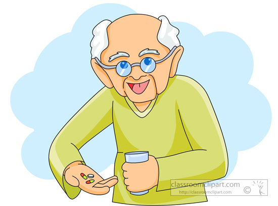 Old clipart Man old clipartfest Free Sick