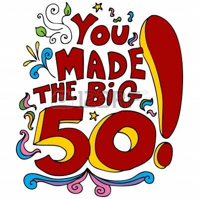 Old clipart 50 year 50 birthday 50th Clipart year