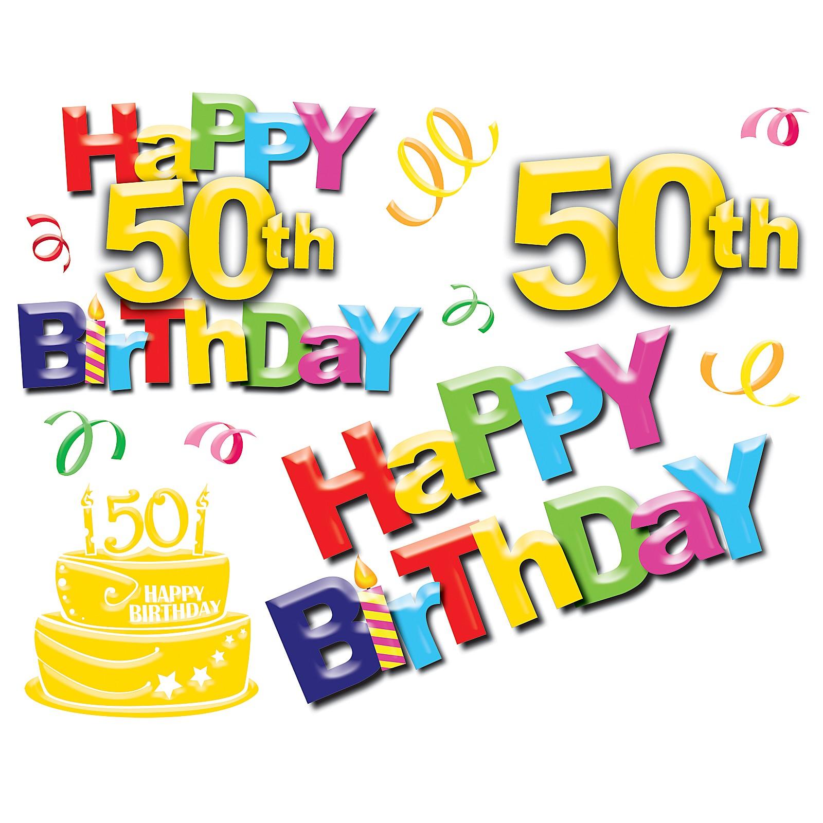 Old clipart 50 year Old the Birthday birthday man