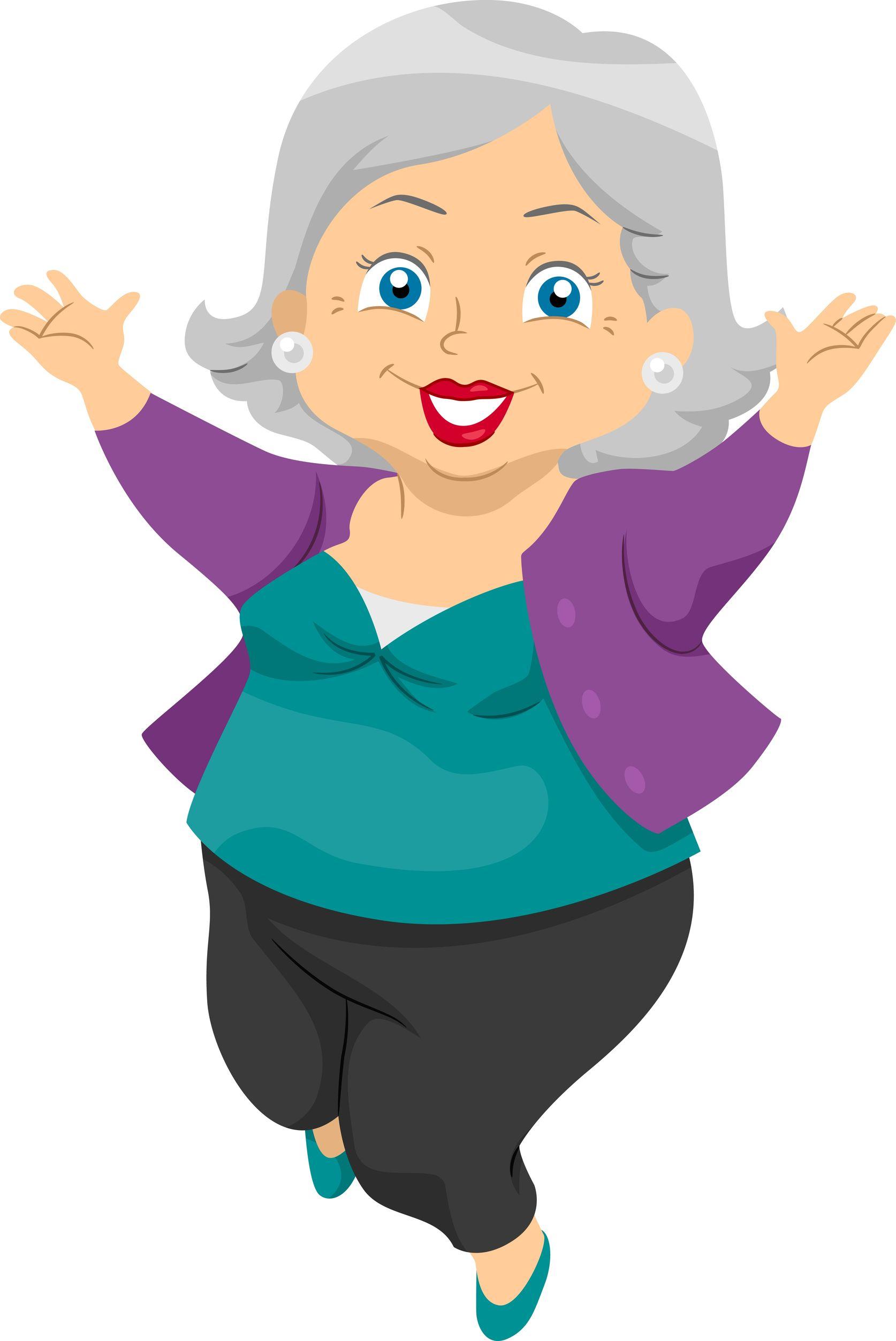 Old clipart abuela Grandmas a cartoons cartoons cartoon