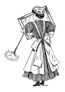 Old clipart cleaning lady Woman Free ~ Cleaning and