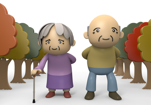 Old clipart group old person Free Art Photos autumn material