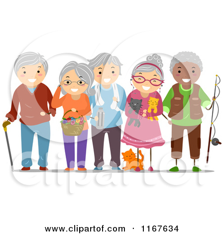 Old clipart group old person Picture Clipart Clip Elderly A