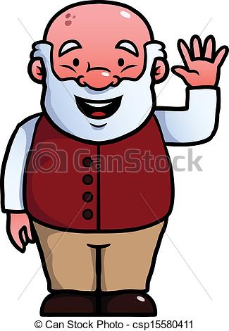 Old clipart old grandpa Of collection Vector Art of