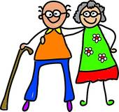 Old clipart pensioner Stock Free · My motivated