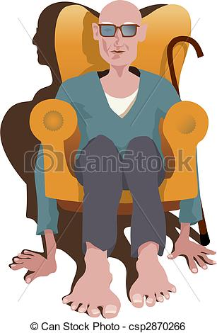 Old clipart pensioner Legs Pensioner and 684 Art