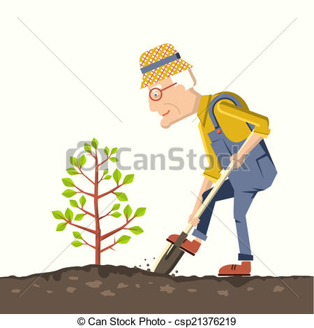 Old clipart pensioner Clip plant tree Old a
