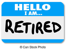 Old clipart retired person Retired Person Illustrations art Retired