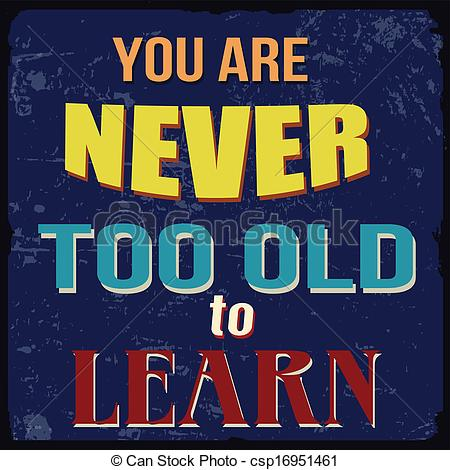 Old clipart too Of never to too You
