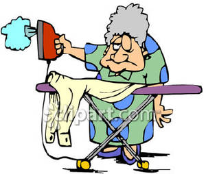 Old clipart woman ironing Picture Royalty Woman Clothes Free