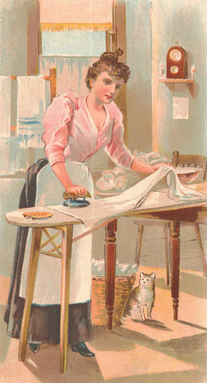 Old clipart woman ironing Essential You & may like