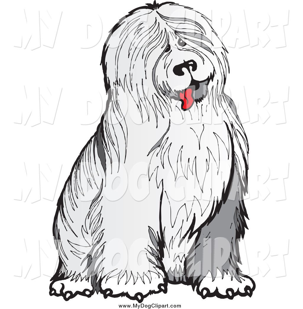 Sheepdog clipart Of Old #1028 English Clip