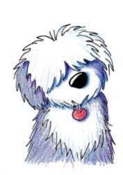 Old English Sheepdog clipart Clipart English sheepdog Old english