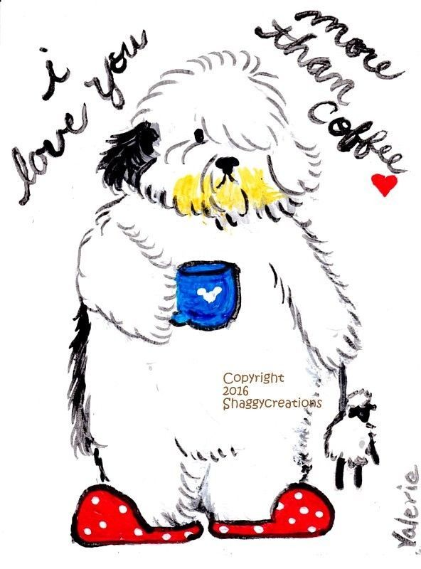 Old English Sheepdog clipart service dog About Old 1000+ Sheepdog facebook