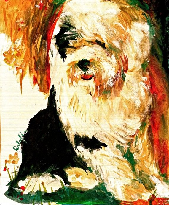 Old English Sheepdog clipart service dog Find Pin on best Old