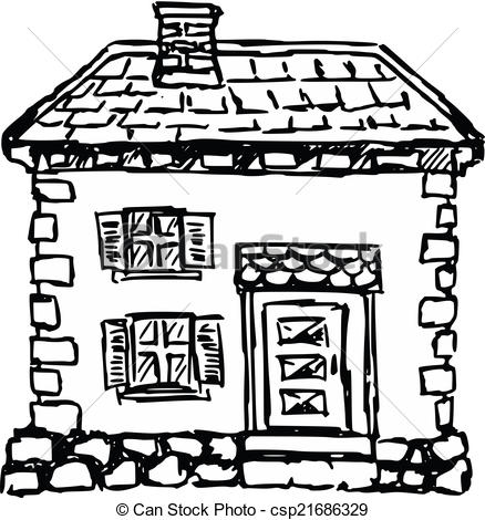 Old House clipart House of old Illustration European