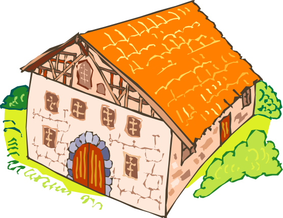 Old House clipart mud house Clipart Stones Stones Clipart Old