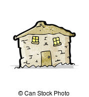 Old House clipart mud house Csp15572038 old  crumbling Vectors