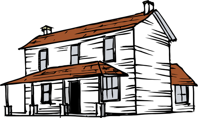 Old House clipart #14