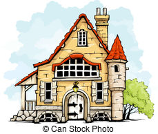 Old House clipart mud house Art Clip House Clip House