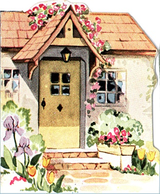 Cottage clipart fairytale cottage Best cottage images on cottages