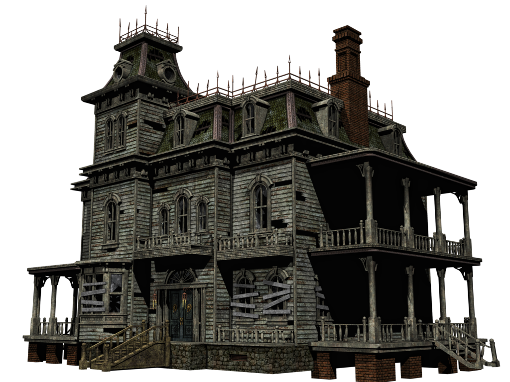Old House clipart ghost house 06 Png Backgrounds Icons By
