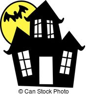 Old House clipart ghost house And Clipart 874  Illustrations