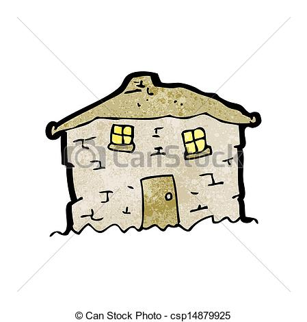 Old House clipart line art #1