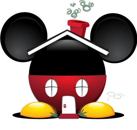 Mouse clipart mouse house Mickey and Best on ideas