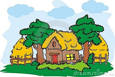 Old House clipart old village Free Villages Clipart Clipart village%20clipart