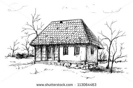 Old House clipart old village House Hotel old House Old