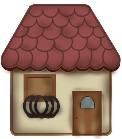 Old House clipart small house #7