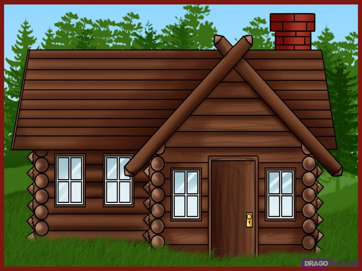 Old House clipart the woods clipart Clipart  on Art Clip