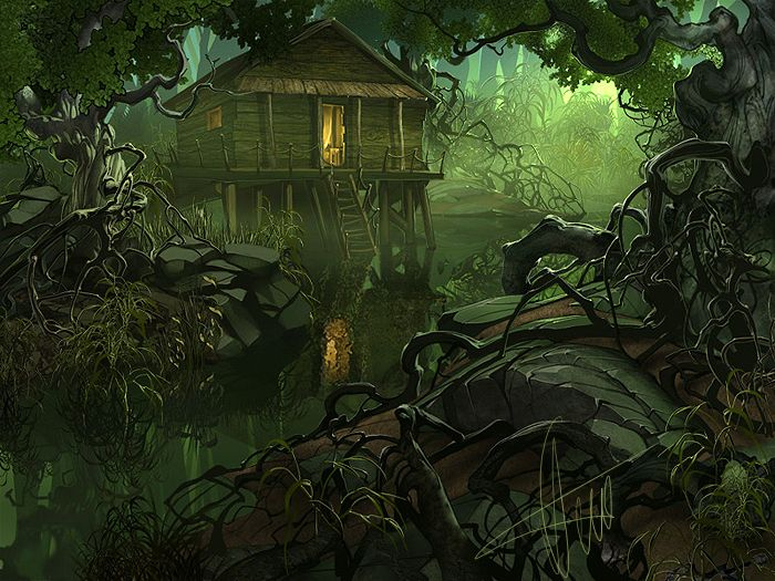Cottage clipart witch house Haunted houses witches and images