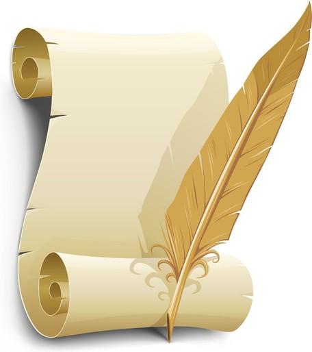Old Letter clipart Paper Vector Old Art Clip
