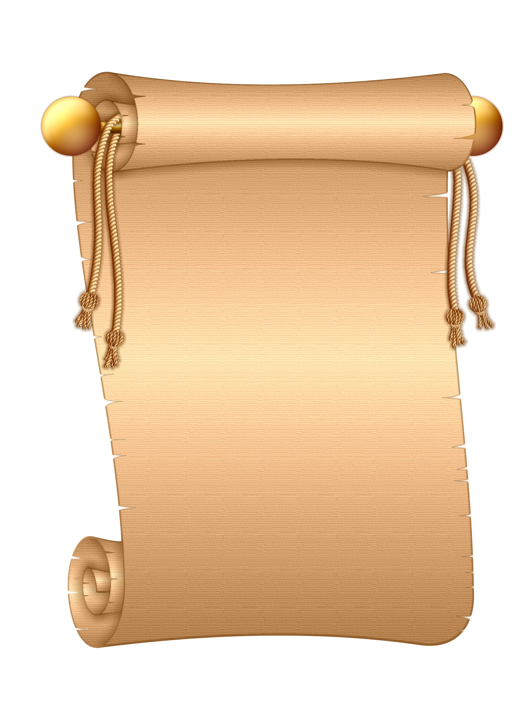 Paper Collection clipart Scroll Letter
