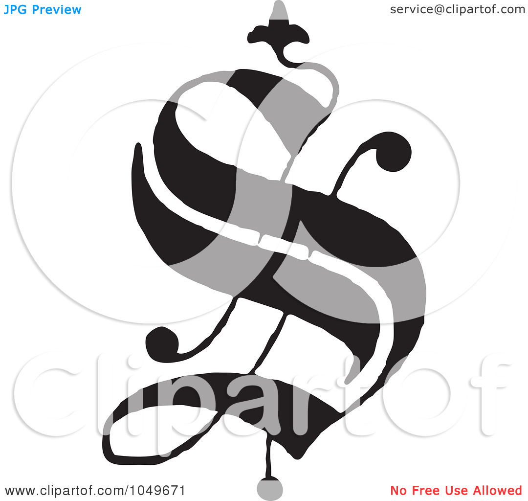 Old Letter clipart black and white English Clip Clip a Old