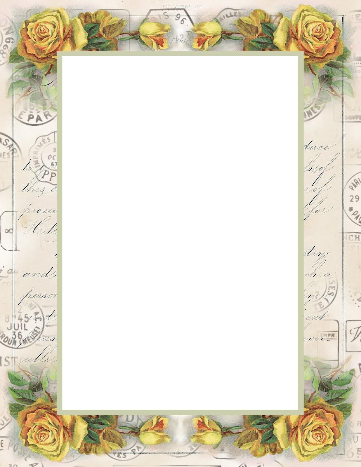 Old Letter clipart frames Find Border Art Letter and