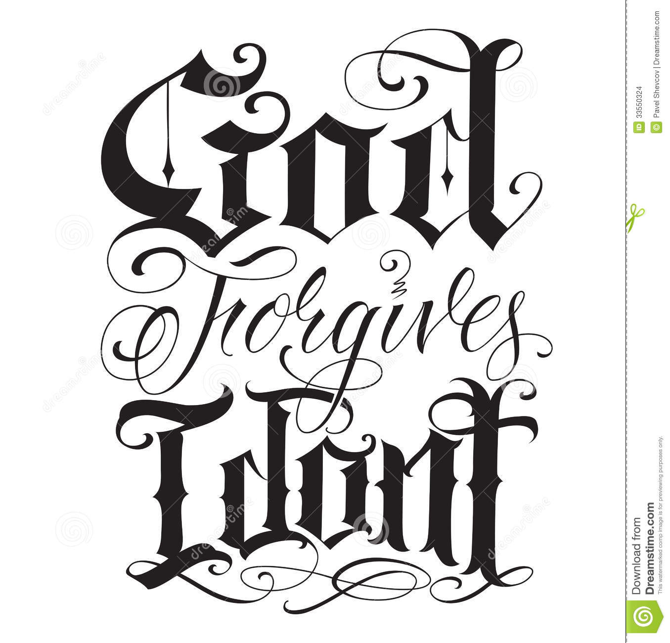 Old Letter clipart hand Forgives Forgives dont hand tattoo