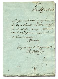 Old Letter clipart important document 1821 frame this that's old