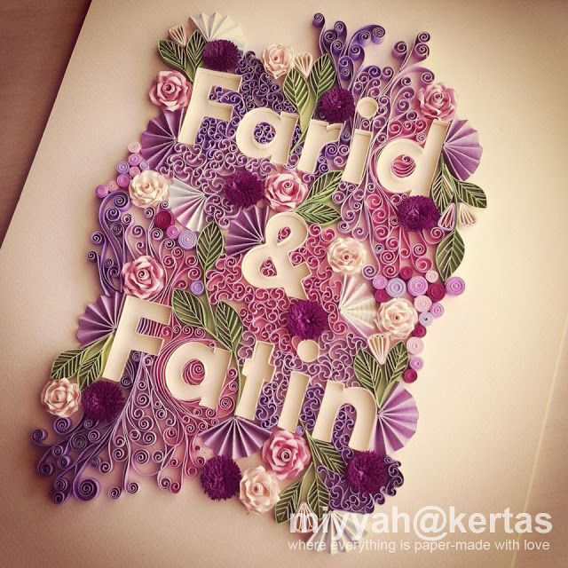Old Letter clipart kertas Pinterest Quilled on best Quilling