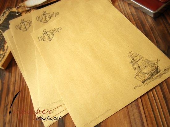 Old Letter clipart kertas Ships Vintage Old 8 Writing