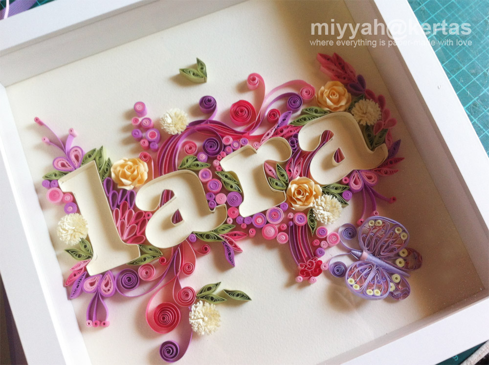 Old Letter clipart kertas NAME best Quilling Lara images
