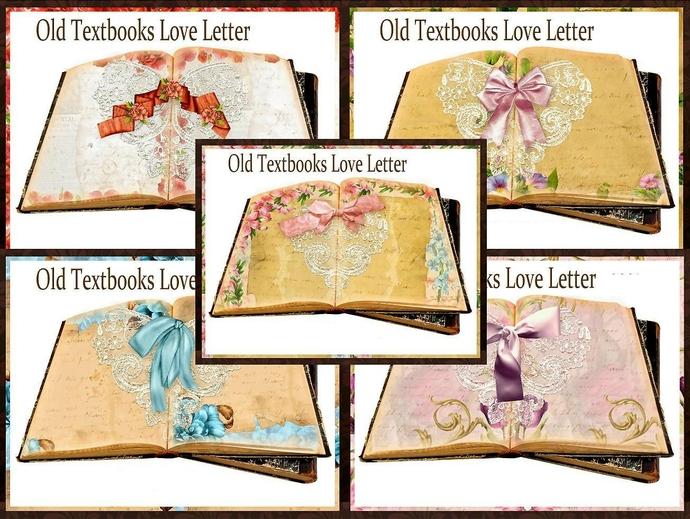 Old Letter clipart love Old Pond Printable on Seneca
