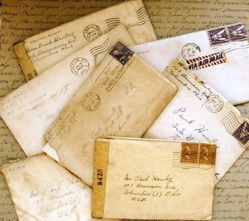 Old Letter clipart love Ephemera marked Pinterest on post
