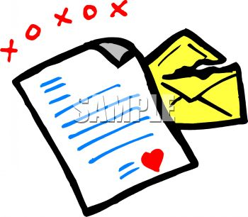 Old Letter clipart love Letter Panda Clipart English Free