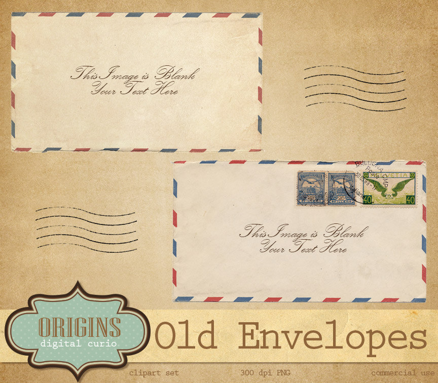 Old Letter clipart mail letter Old Old  Letters Clipart